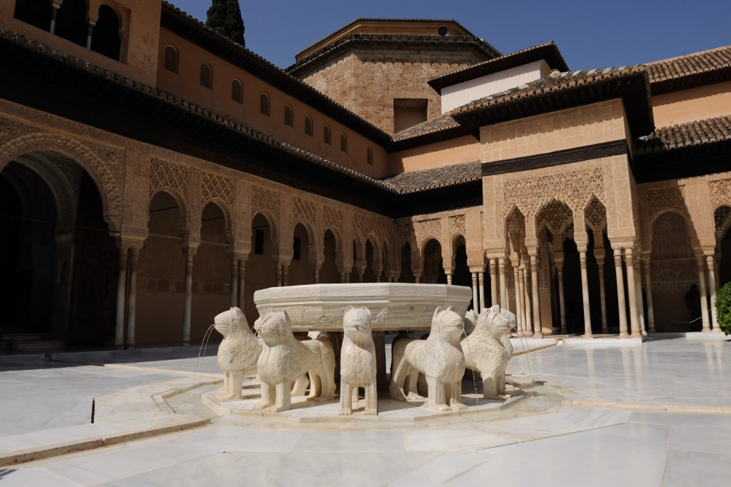 ´Patio of the Lions´in the Alhambra´s Nasrid Palaces, Junta de Andalucia, flickr