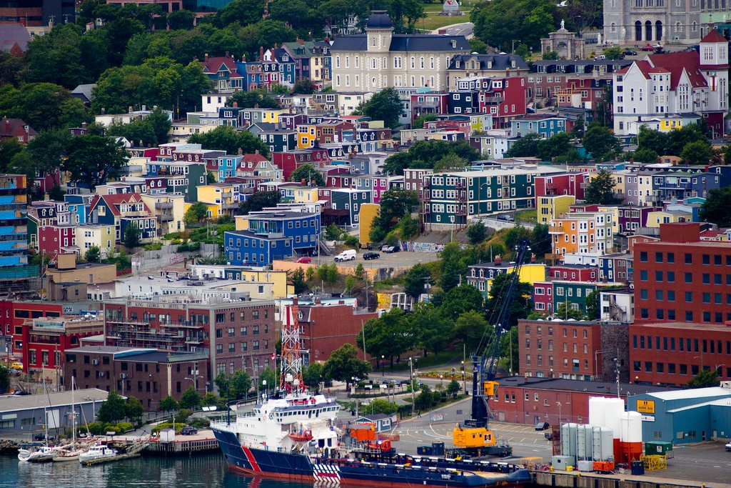 Colourful St John's | © Kenny Louie / Flickr