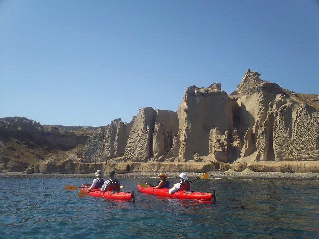 Sea Kayaking at Vlychada   © Santorini Sea Kayak/Flickr