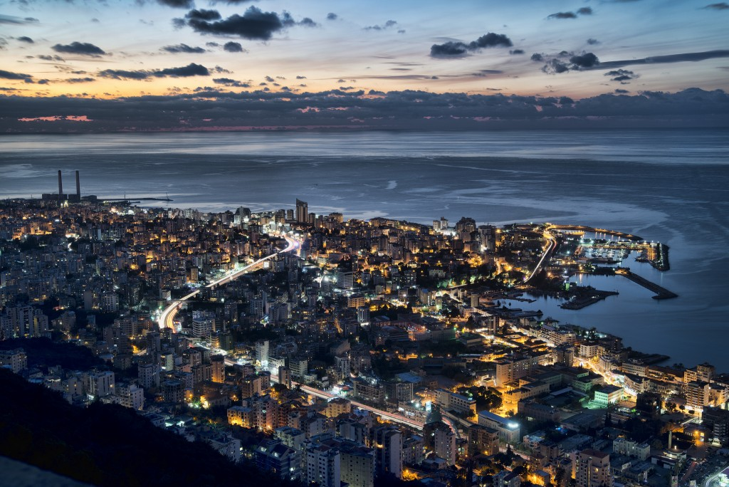 Beirut at Night| © Ahmad Moussaoui/ Flickr