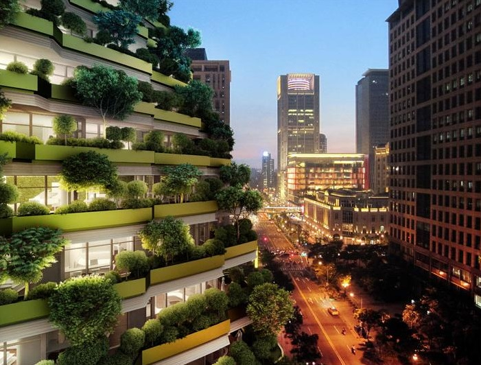 Vincent Callebaut - Taipei AGORA GARDEN LUXURIOUS RESIDENTIAL TOWER | © 準建築人手札網站 Forgemind ArchiMedia / Flickr