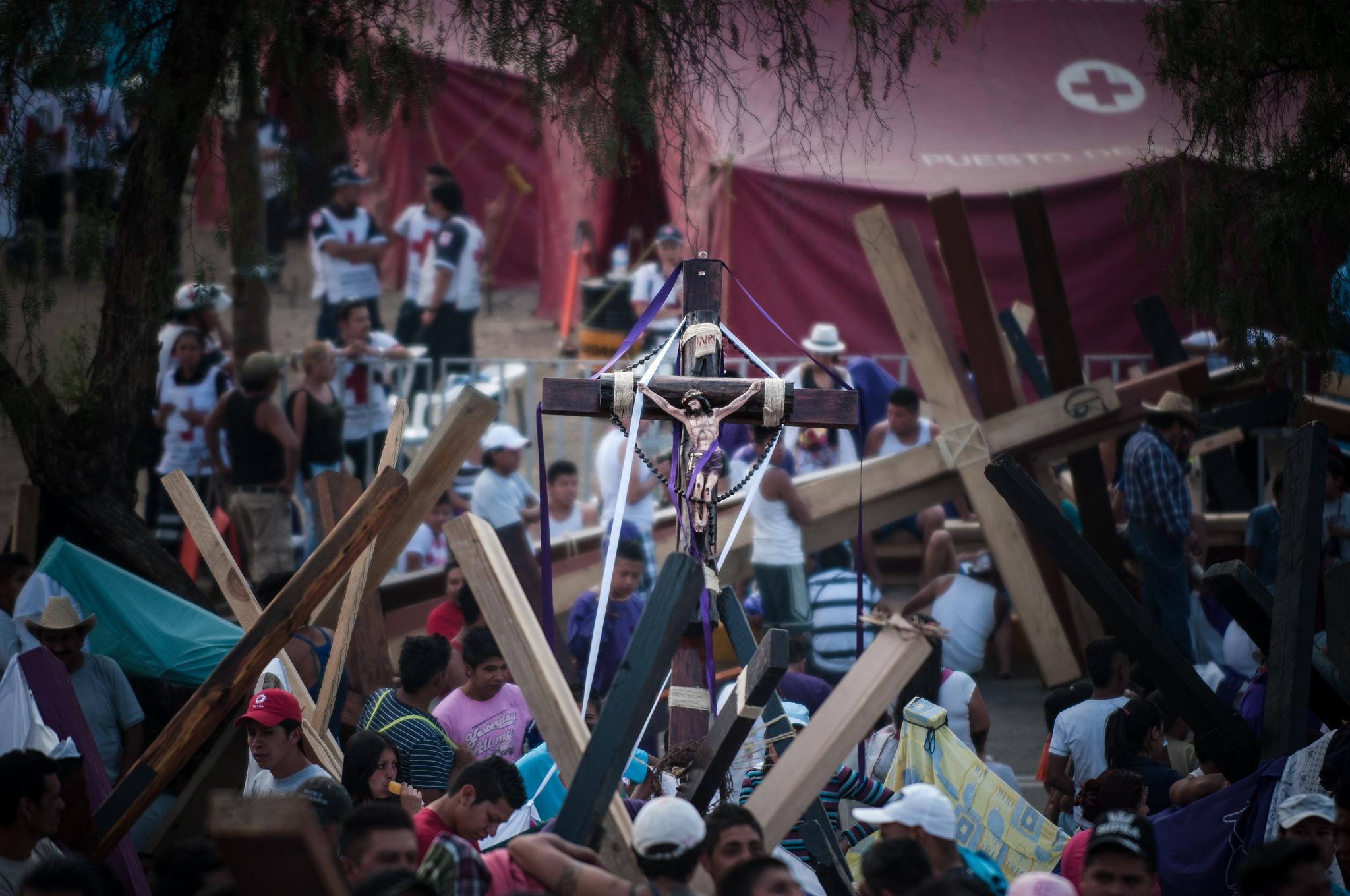 One of the popular religious celebrations in Iztapalapa | © Eneas De Troya/Flickr