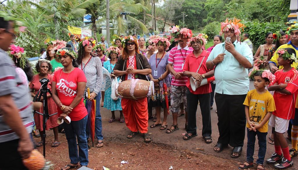 Sao Joao Celebrations in the village of Soccoro | © Joel's Goa Pics / Flickr