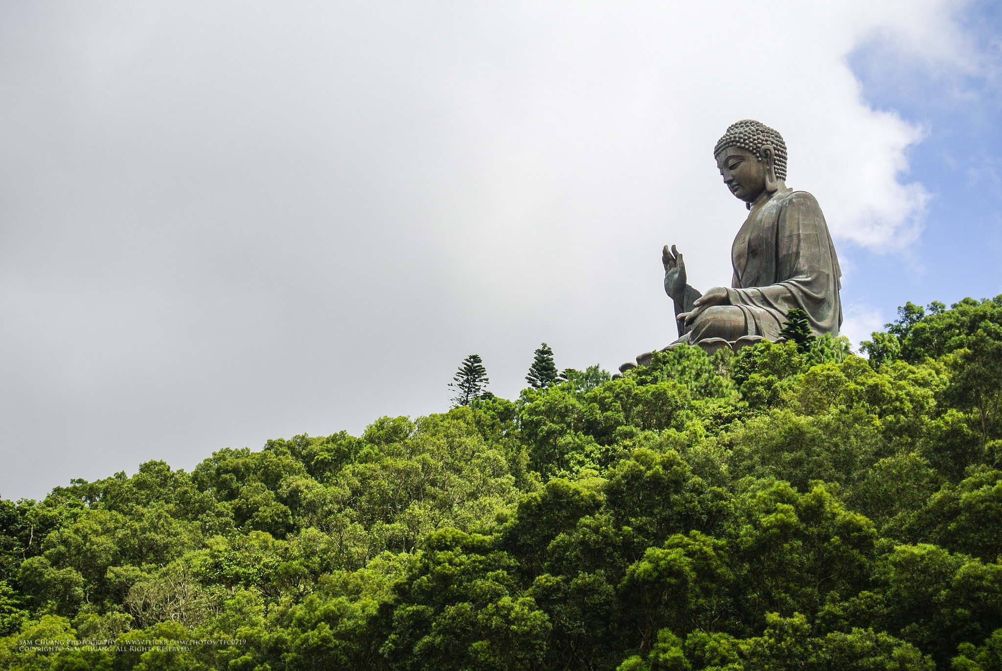 Tian Tian Buddha | © SAM CHUANG/Flickr