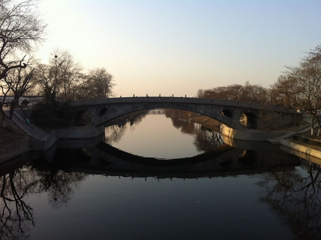 趙州橋 全景|©Ping Lin/Wikimedia coomons