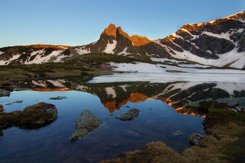 The Twin Lake in Rila © Alexandra Karadzhova/WikiCommons
