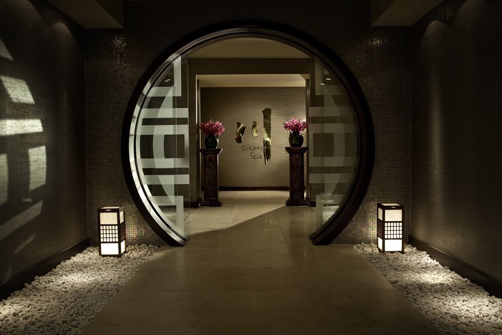 Chuan Spa Moongate | © Courtesy of The Langham Auckland