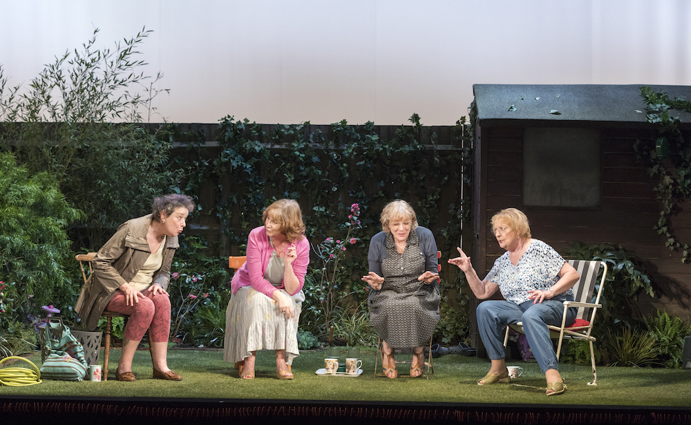 From left: Linda Bassett; Deborah Findlay; Kika Markham. and June Watson |© Richard Termine