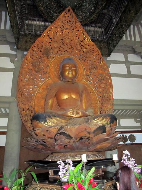 The Amida Nyorai Buddha at Byodo-in Temple