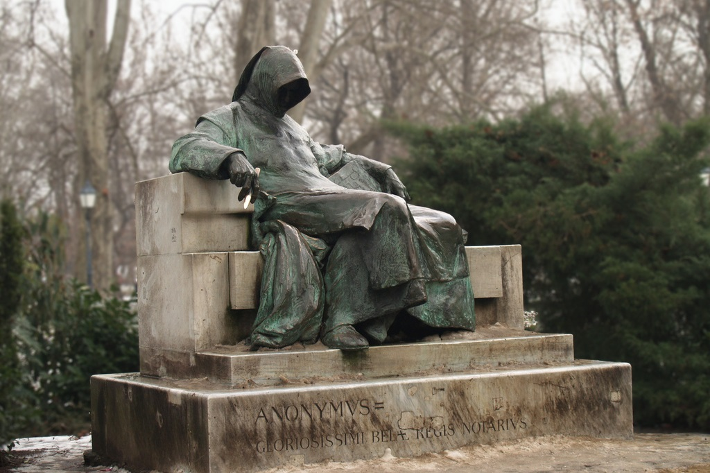 Statue of Anonymous Budapest