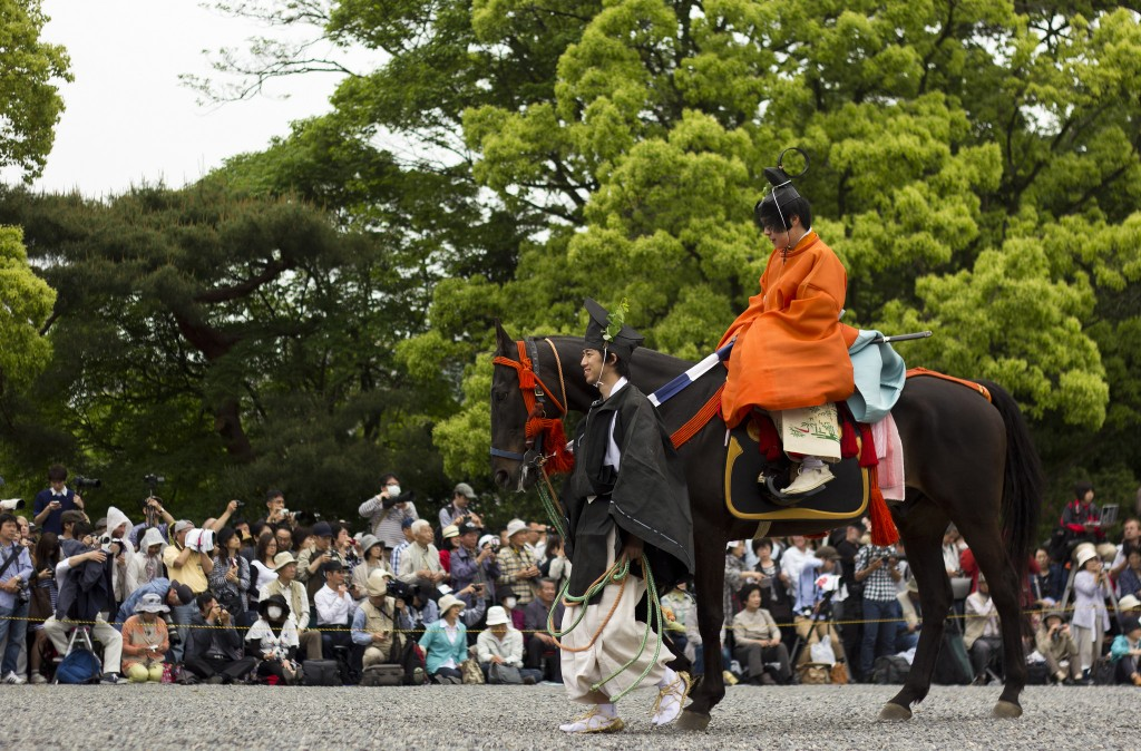 The Aoi Matsuri Parade