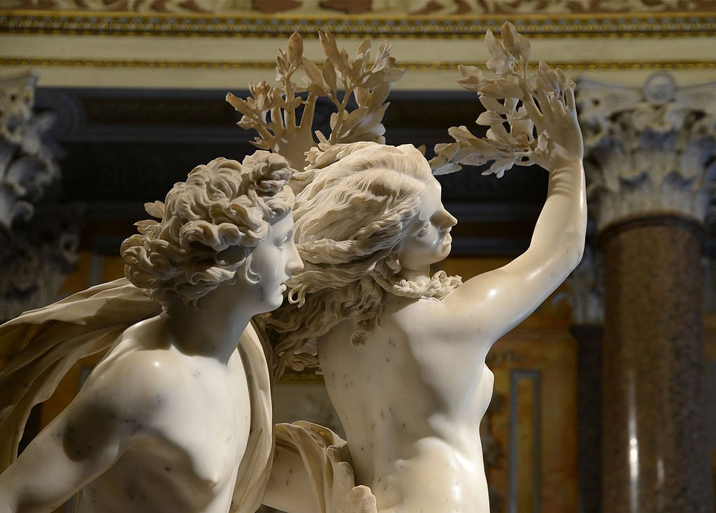 Apollo and Daphne| © Alvesgaspar/Wikicommons