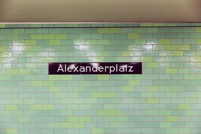 Typography at Alexanderplatz station | © Markusspiske/Pixabay