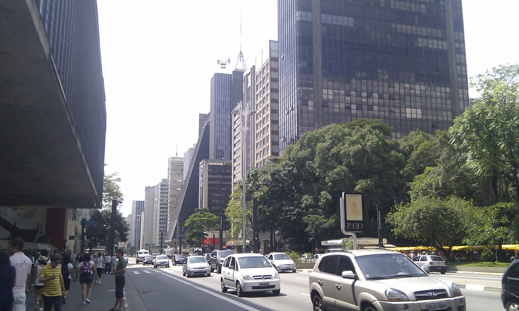 Avenida Paulista © Mark Hillary/Flickr