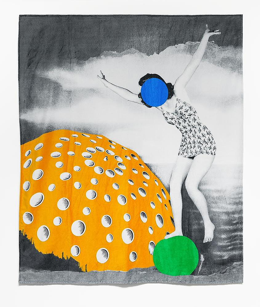 Beach Towel © John Baldessari. Courtesy of Marian Goodman Gallery London