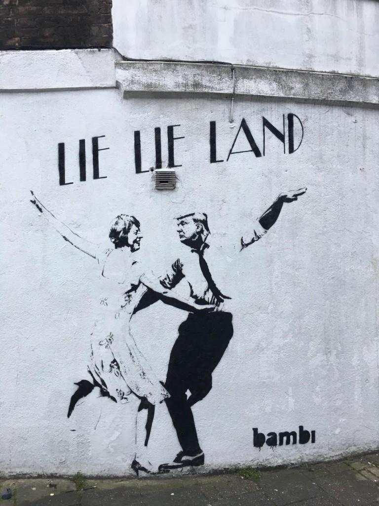 Bambi, <em>Lie Lie Land</em>, London 2017 | © Bambi