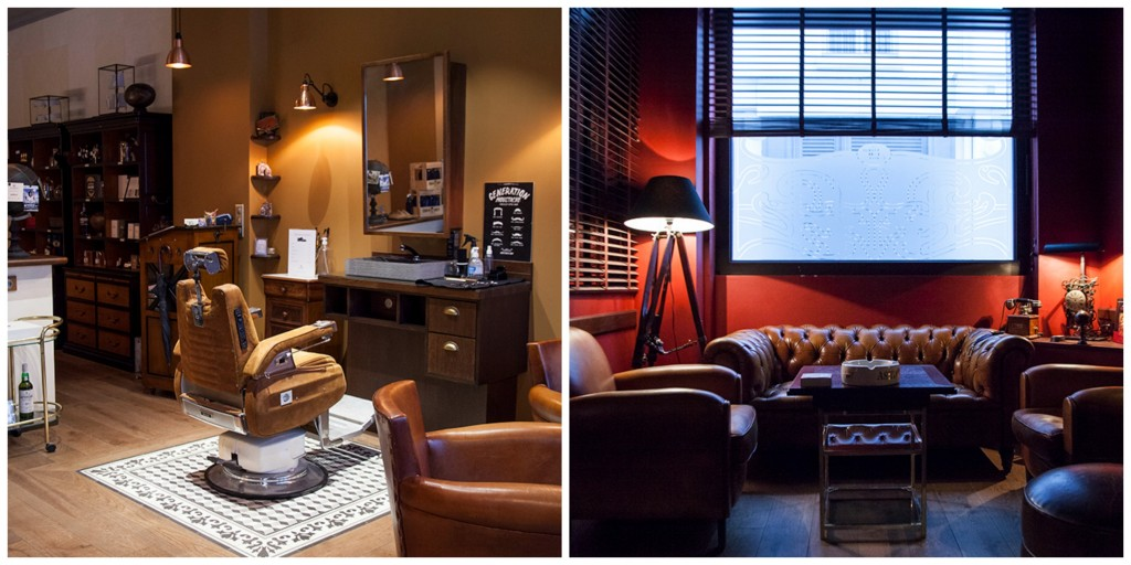Barbershop and cigar room │ Courtesy of Gentlemen 1919