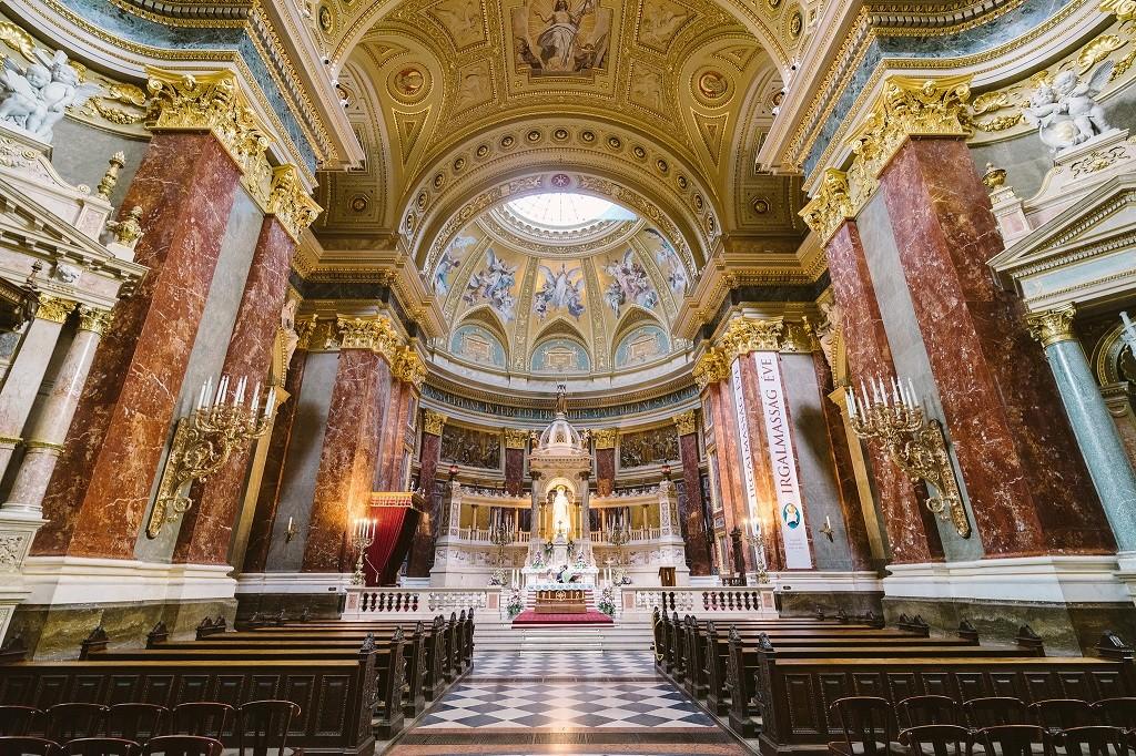 St Stephen's Basilica interior