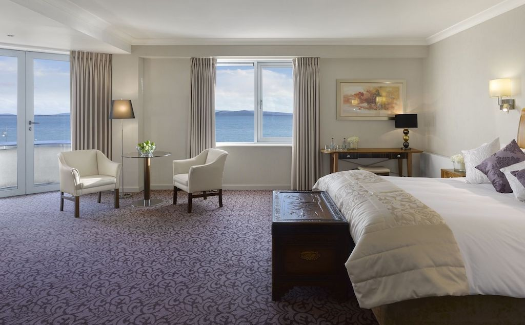 Seaview Suite at Salthill Hotel Galway   Courtesy of Salthill Hotel Galway