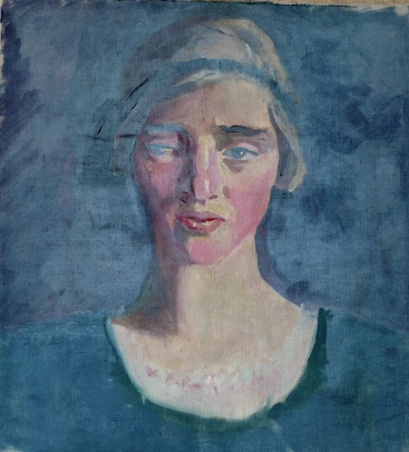Head of a Woman, Mainie Jellett 1897-1944 | © National Museums Northern Ireland Collection Ulster Museum
