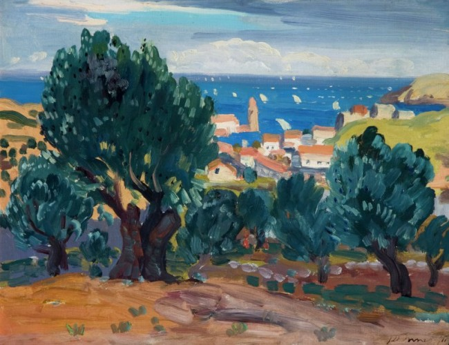 Olives at Collioure (1911), James Dixon Innes 1887-1914 | © National Museums Northern Ireland Collection Ulster Museum