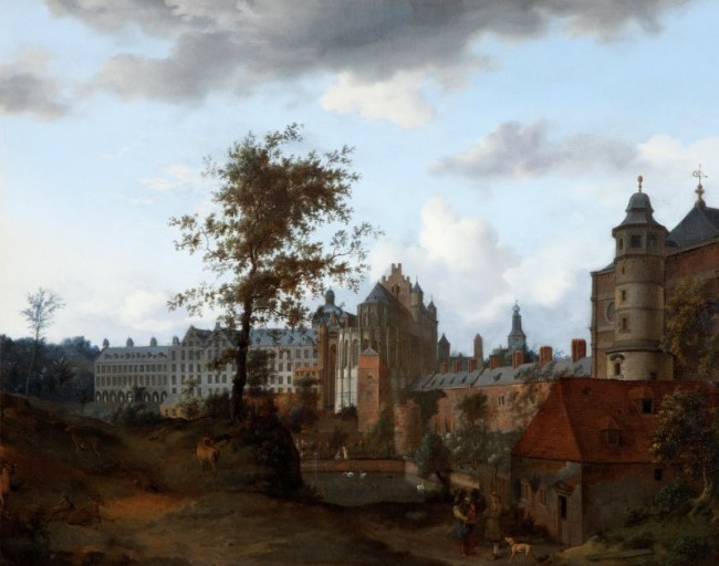 A View of the Palace of the Dukes of Brabant, Brussels (poss. 1660s) Jan van der Heyden 1637-1712 | © National Museums Northern Ireland Collection Ulster Museum