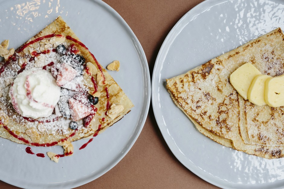 Berries & Butter Sugar Crepe   Courtesy of The Daily Roundup