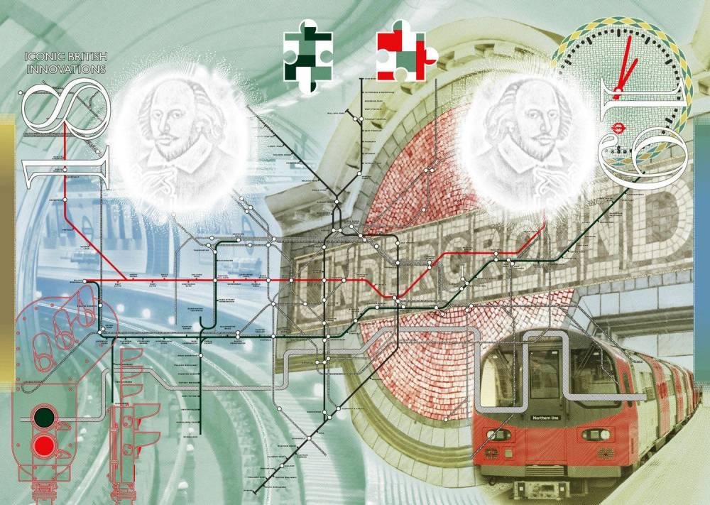 British Passport 'Creative United Kingdom' Passport | © Christopher Nield, HM Passport Office/Creative Commons
