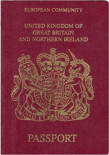 British Passport (European Community) | © Stratforder/Creative Commons