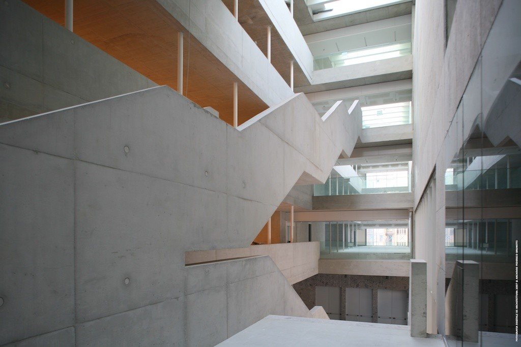 Universita Luigi Bocconi by Grafton Architects | © Brunetti/Courtesy of Grafton Architects