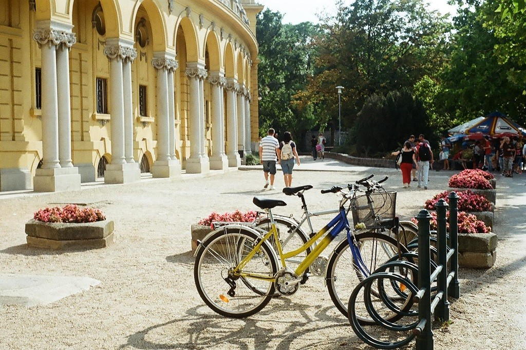 Bikes in Budapest