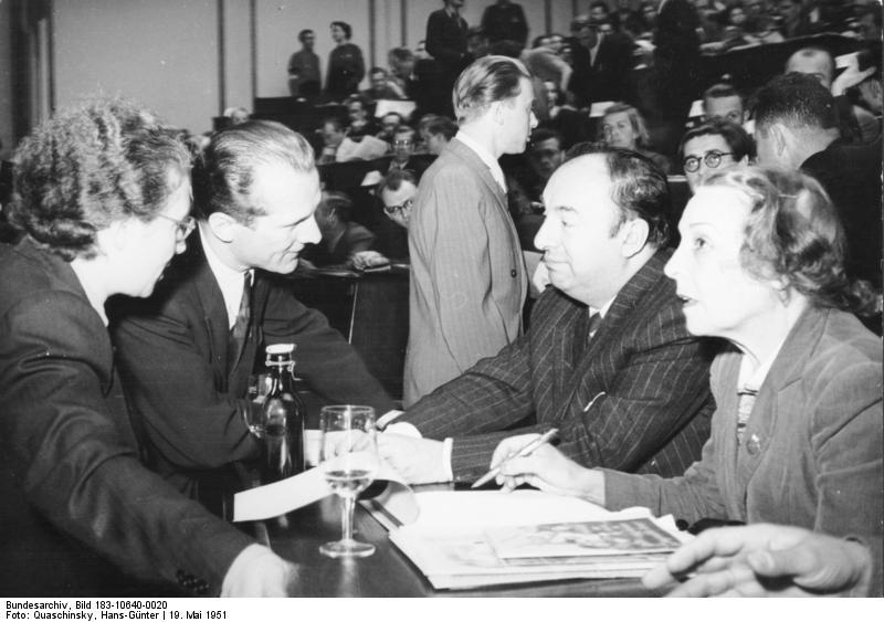 Berlin, III. Weltfestspiele, Vorbereitung © German Federal Archives