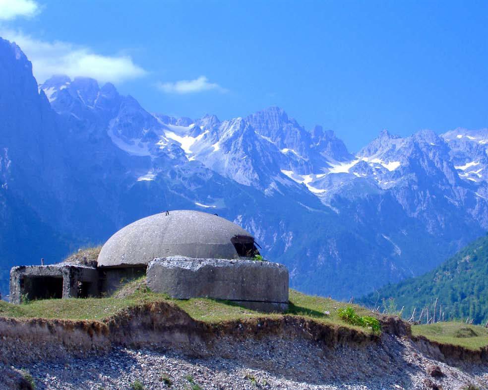 Bunker in Albanian Alps. © Elian Stefa, Gyler Mydyti/Creative Commons