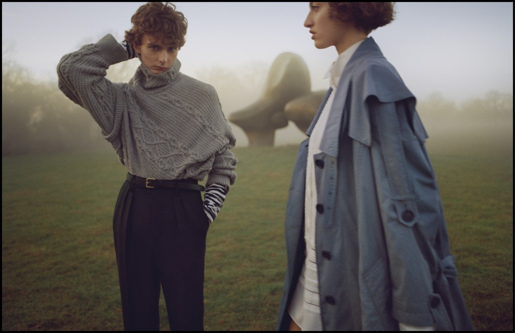 Burberry February 2017 Campaign. Courtesy of Burberry/Josh Olins
