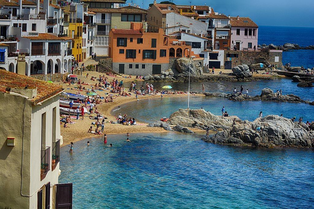 Palafrugell, Spain   ©Felipoween / Wikimedia Commons