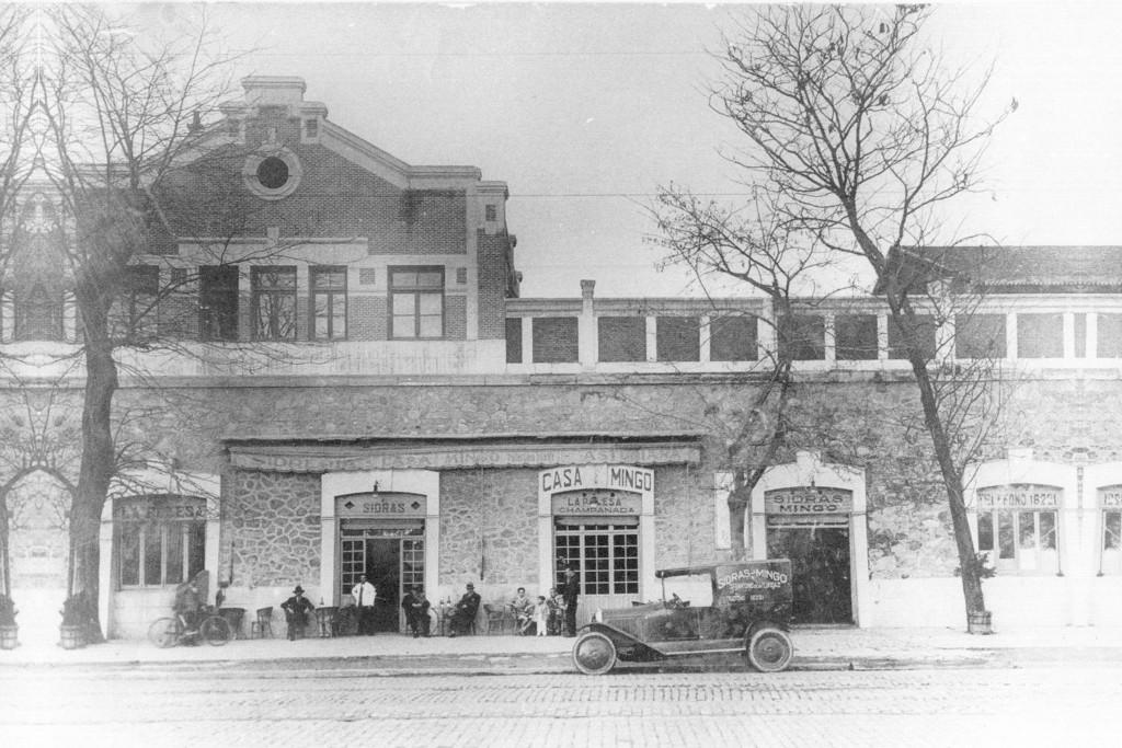 The original facade   © Casa Mingo