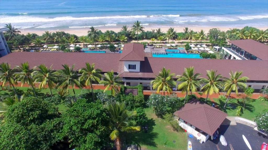 Aerial drone view of the Centara Ceysands Resort and Spa | © Courtesy of Centara Hotels & Resorts - Vimeo