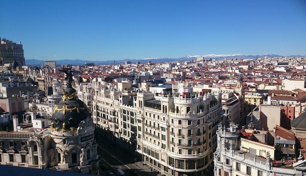 A view of the city from the Círculo de Bellas Artes | © Lori Zaino