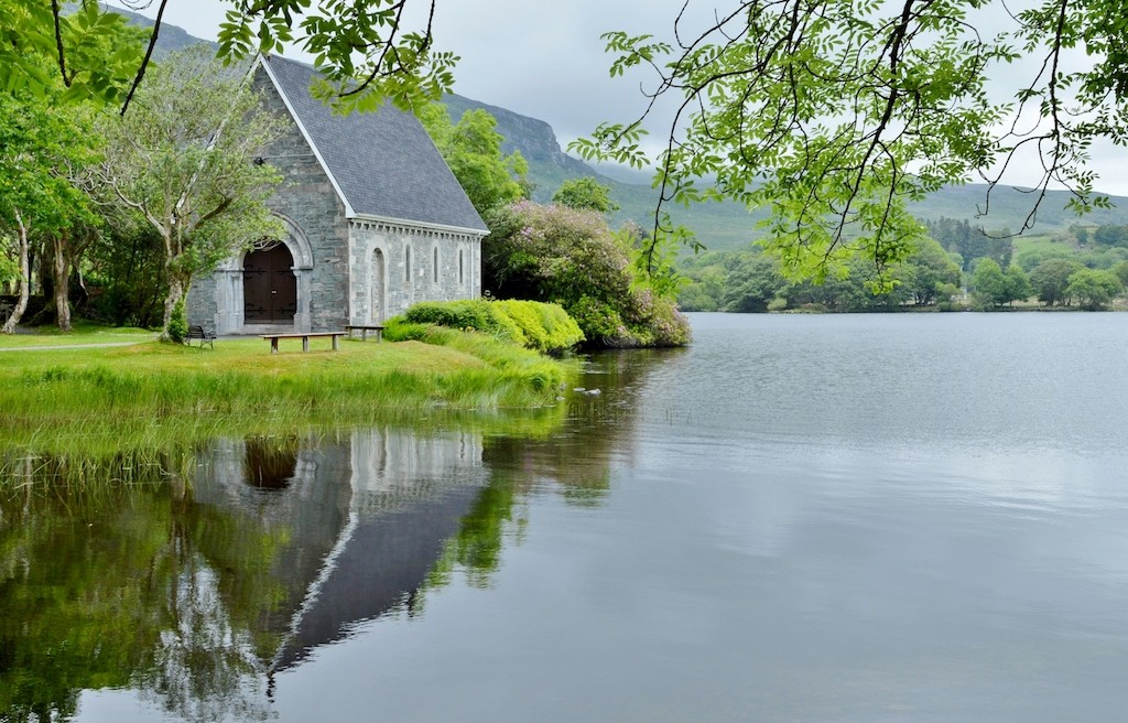 Gougane Barra reflections | © NicholasH/WikiCommons