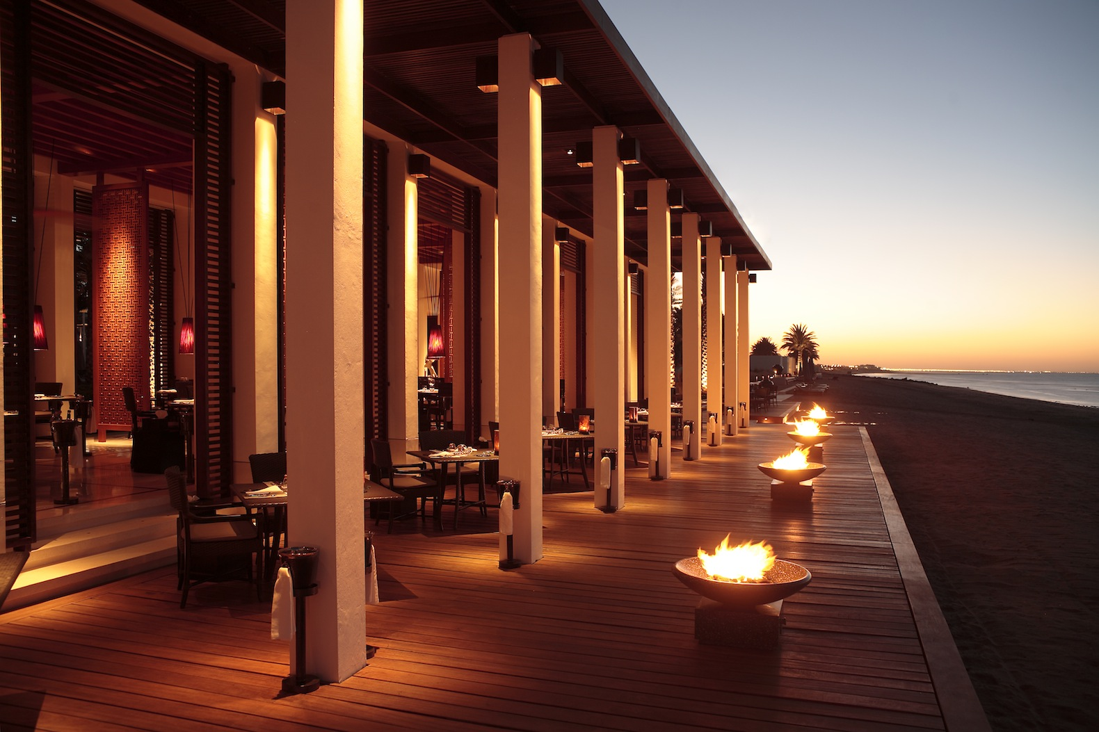 Beach Dining | © The Chedi, Muscat