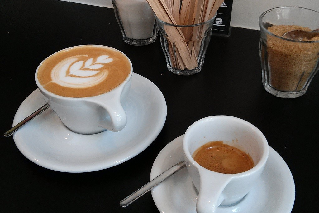 Coffee at Fekete Budapest