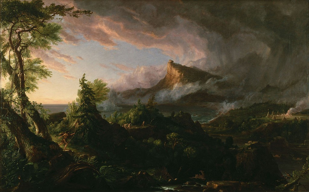Thomas Cole, 'The Course of Empire: The Savage State' (1836) | Creative Commons