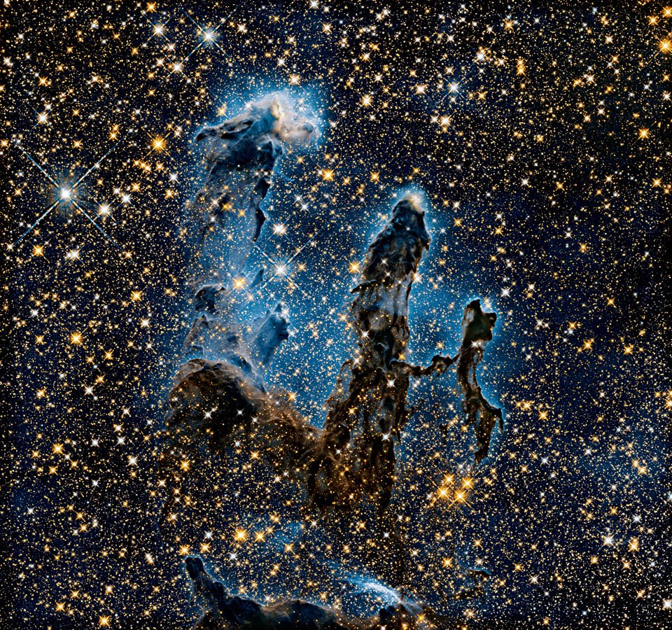 © NASA, ESA, and Hubble Heritage (STScI:AURA) Caption: M16 Eagle Nebula classification: Star-forming Nebula position: 3; Image courtesy of Taschen