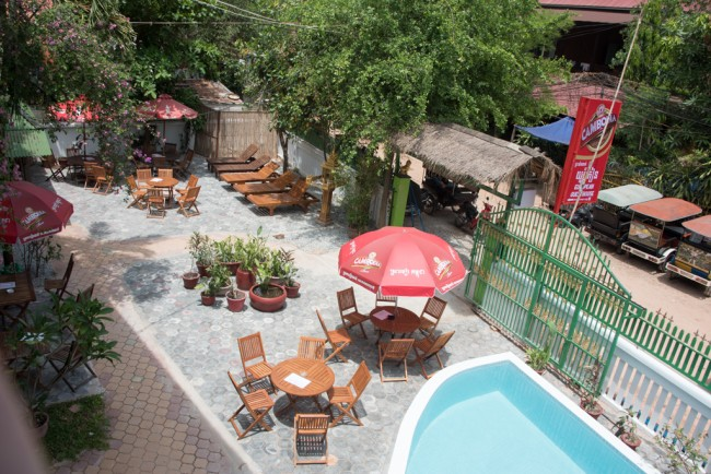 European Guesthouse is popular with budget travellers © European Guesthouse