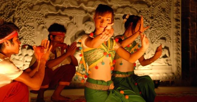 The Fou-Nan in Siem Reap puts on popular apsara shows   © The Fou-Nan