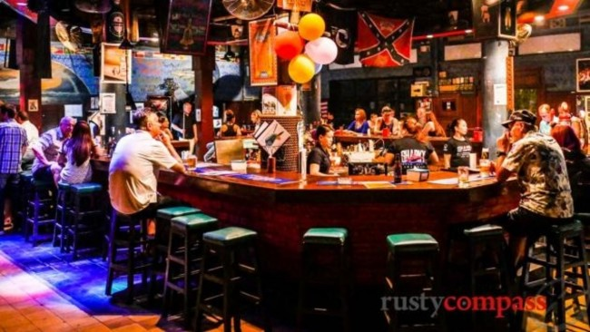 Sharky is a popular spot for live music (c) Mark Bowyer/ Rusty Compass