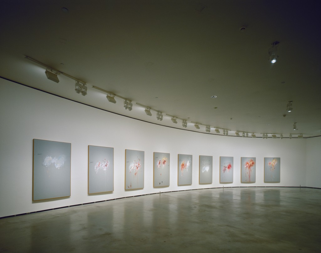 Nine Discourses On Commodus by Cy Twombly   Guggenheim Museum Bilbao