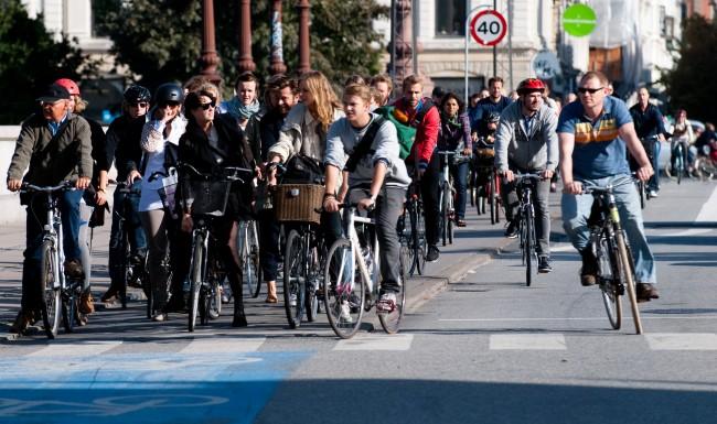 Cyclists gathering | © Heb/Wikicommons