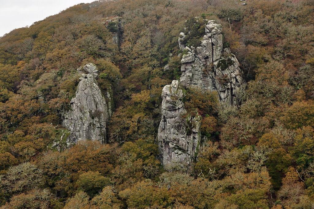 The Dewerstone, Dartmoor National Park ©Nilfanion/Wikimedia