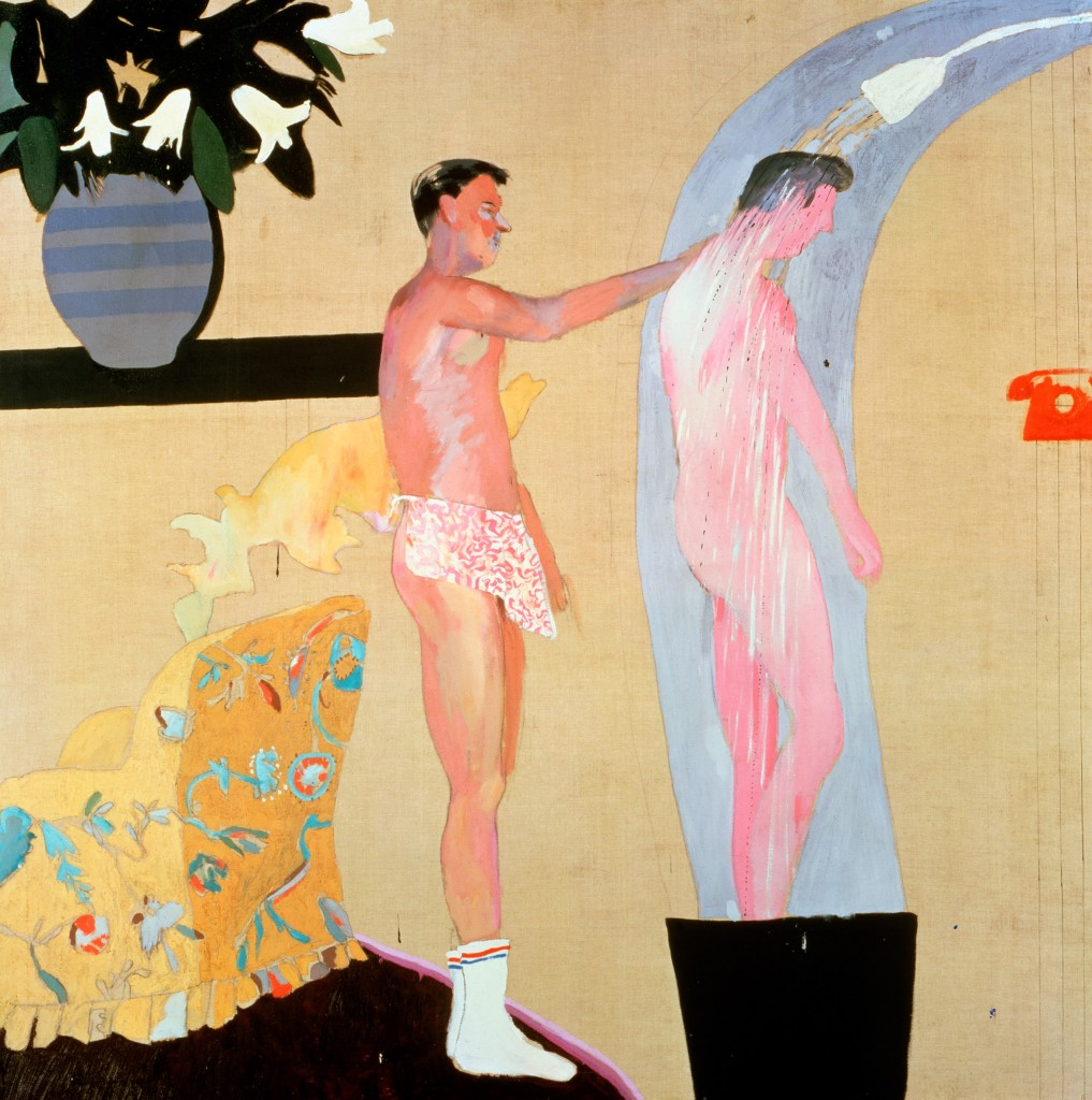 """Domestic Scene Los Angeles"" 1963 © David Hockney"
